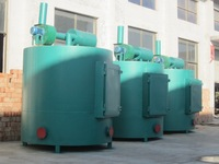 Mass production wood carbonization furnace with CE certification