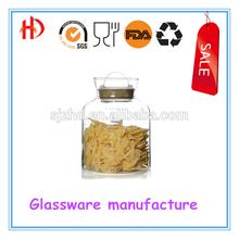 Home supplies glass storage jar/set food canister/kitchen jar