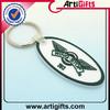 wholesale customized pvc frog keychain