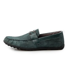 2015 Low price men slip-on loafer with rubber soften sole shoes