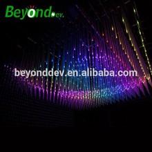 1.5m 24 pixels ceiling hanging dmx 3d tube for club lighting