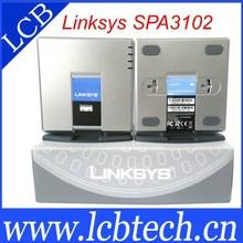 Brand New Unlocked Linksys SPA3102 Voip Phone Adapter