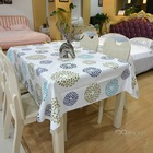just released ,the next generation pvc crochet vinyl table cloth elegant easy to care table cloth