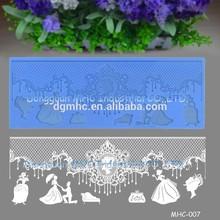 New! wedding cake decorating supply, sugarcraft lace baking mold, wedding cake lace icing mold