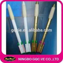rocket shape Plastic pen,promotional pen,customized accept