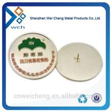 custom magnetic flower lapel pin