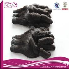 6A precio de fábrica venta al por mayor mongol caramelo curl pelo humano de la armadura, Barato remy del pelo humano que teje