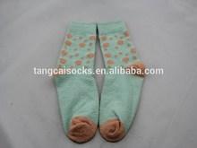 WSP-229 Custom Mid High Microfiber Women Socks 1/4 High Quality Women Socks