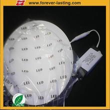 China wholesale price 18w round led panel light