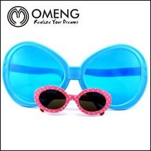 2015 Wholesale party big blue funny kid's sunglasses OMPBG0045