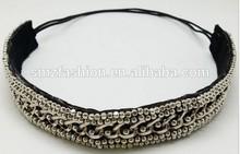 2015 Fashionable hair ornament chain hairband