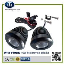led motorcycle/ snowmobile led spotlight headlight, universal led motorcycle lamp motorcycle lights kit for Yamaha