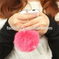 Rabbit hair Crystal Anti Dust For 3.5mm Earphone Jack Hole Of Mobile Phone Dustproof plug