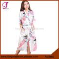 0102 design longues en satin de soie kimono japonais pour la vente