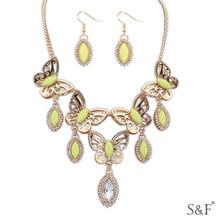 107192 Factory wholesale Copper jewelry set