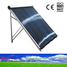 Pressurized Solar Copper Heat Pipe Solar Manifold Collectors