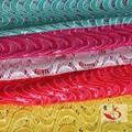 Cabo de moda água tecido de renda solúvel / guipure rendas / rendas química para vestido de noiva