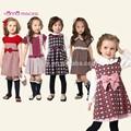 مختلف الملابس أنماط أسماء/ الأطفال النمط الكوري الملابس/ الصوف فستان قطعة واحدة
