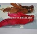 Fantaisie d'oiseau paillettes 2 ASST Chirstmas plume décoration