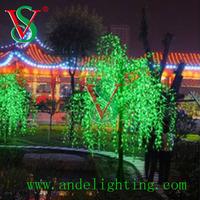 hot Christmas decoration tree led willow tree lights holiday lighting