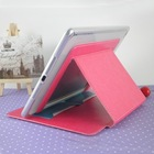 Newest design Fancy tablet case for apple ipad air 2 business card slot bar case for ipad 6 9.7 inch tablet pc leather case