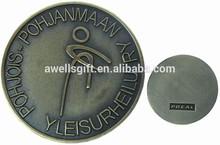Brass Challenger Coin Round metal coin