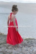 2015 wholesale girls summer frock casual dress girls fashion dress kids maxi dresses