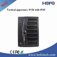 5 MP Recording , hikvision Vertical apperance NVR ,POE NVR