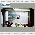 Energy saving window/porte,/salle de douche/confidentialité verre intelligent avec film smart électrique prix