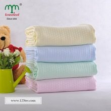 Solid Color Cool Antibacterial Bamboo Kids Blanket Throw Kids Gift China Manufacturer
