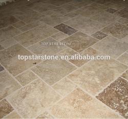 Cross Cut Antique Travertine Floor Paver