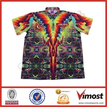 2014 Fashionable customized high quality crew shirt race crew shirts
