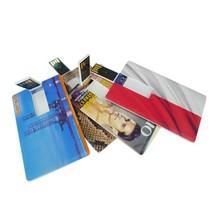 card flashdisk plastic housing usb memory 16gb