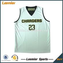 Cheap custom design reversible basketball top