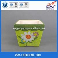 Colorful Ceramic Flower Pot