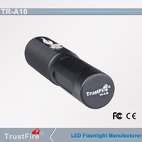 TrustFire A10 led torch/usb flashlight, rechargeable led outdoor flash led light