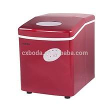 Red portable home mini fruit ice cream maker italian