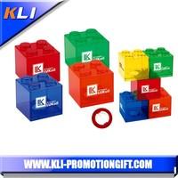 building blocks shape lego plastic coins bank