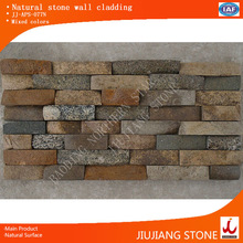 Pabbels culture stone for exterior wall construction,colorful cabbles glued together for wall cladding,natural culture stone ve