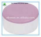6x3.5cm customized PU stress ball round tablet/kids gifts PU foam round tablet/kids toys PU anti stress ball round tablet shape