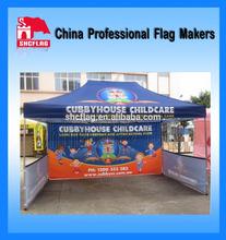 Custom design printed promotion ad Canopies