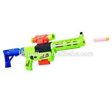 2015 Newest Designed Quick Succession Soft Bullet Machine Gun Toy