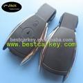 Topbest carro fabricante de chaves para cobrir chave mercedes benz s- classe 2 botões caso chave inteligente