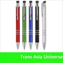 hot sale Very cheap metal ball pens aluminum metal pen