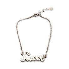 Cute delicate lead free bulk sale silver plated short choker lover gift necklace