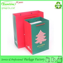 Lovely printing paper christmas tree storage bag