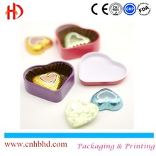Colored food packing alu aluminum foil for chocolate packing/wrapping