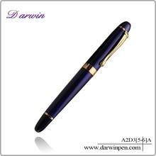 Latest stationery items metal roller pen unique pen