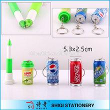 Advertising novelty gift bottle ball pen