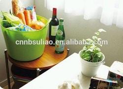 plastic food bucket/plastic bucket for food